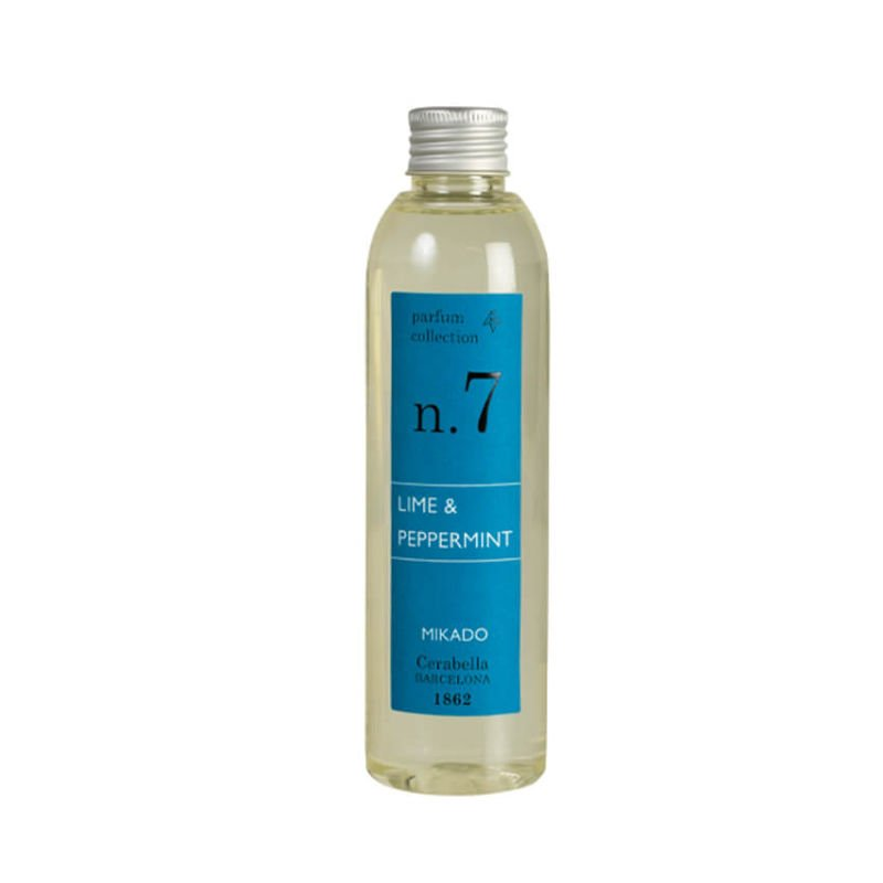 Recambio Mikado Ambientador 200ml Numbers Lime Peppermint